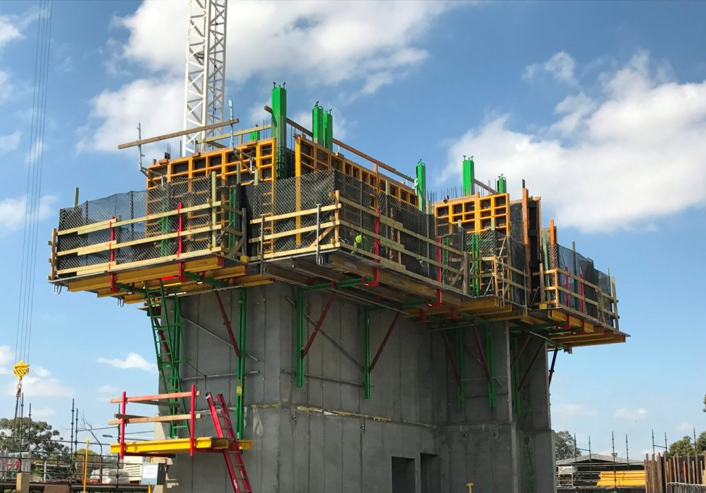 Coffrages pour murs - Coffrage beton mur -1