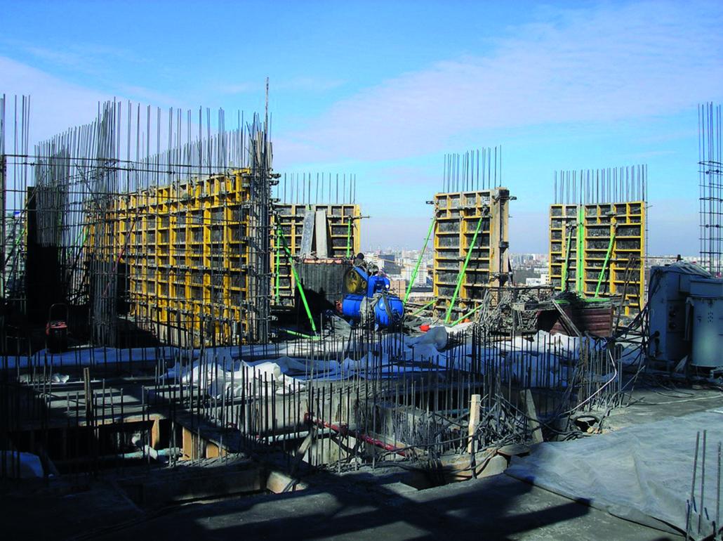Coffrages pour murs - Coffrage beton mur -3