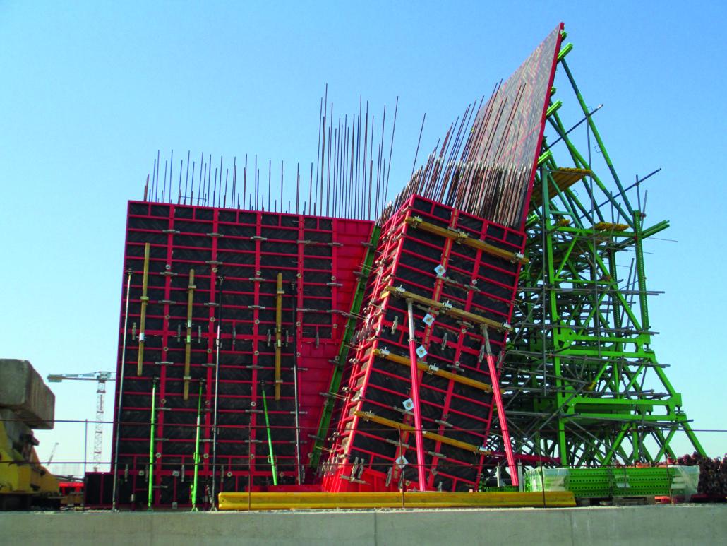 Coffrages pour murs - Coffrage beton mur -4