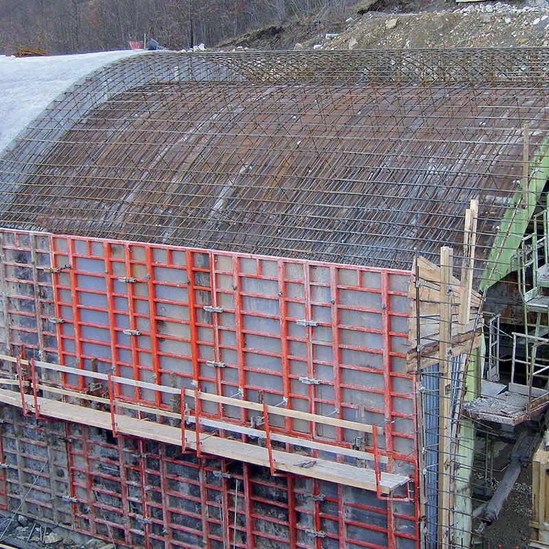 Coffrages pour murs - Coffrage beton mur -5