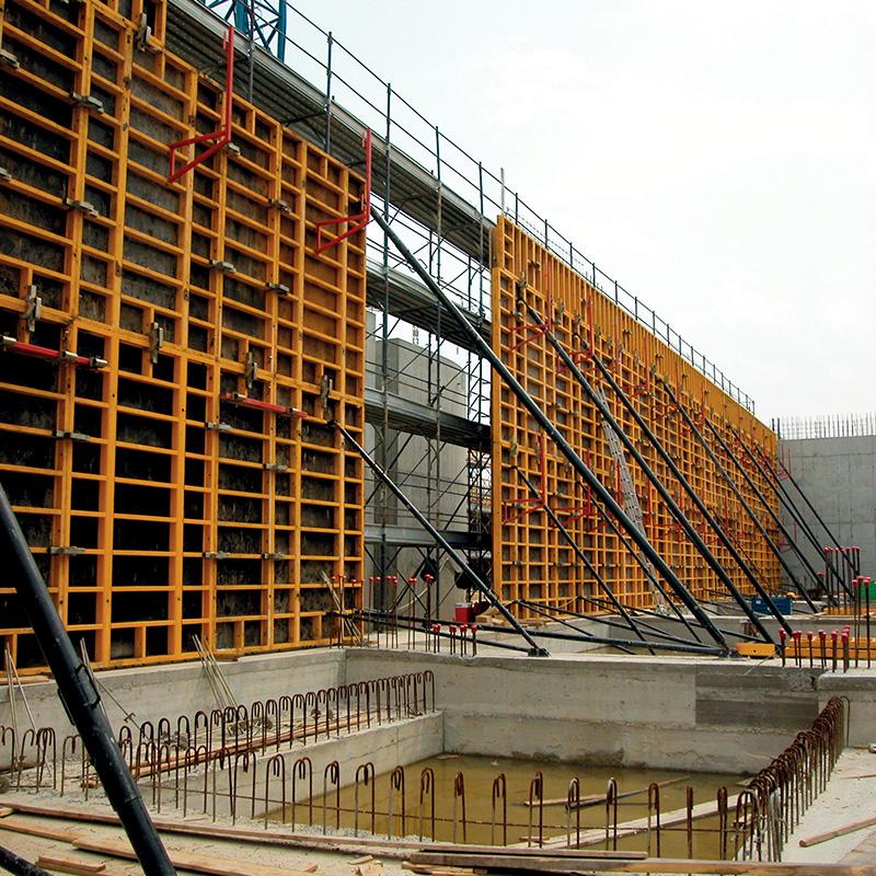 Coffrages pour murs - Coffrage beton mur -6